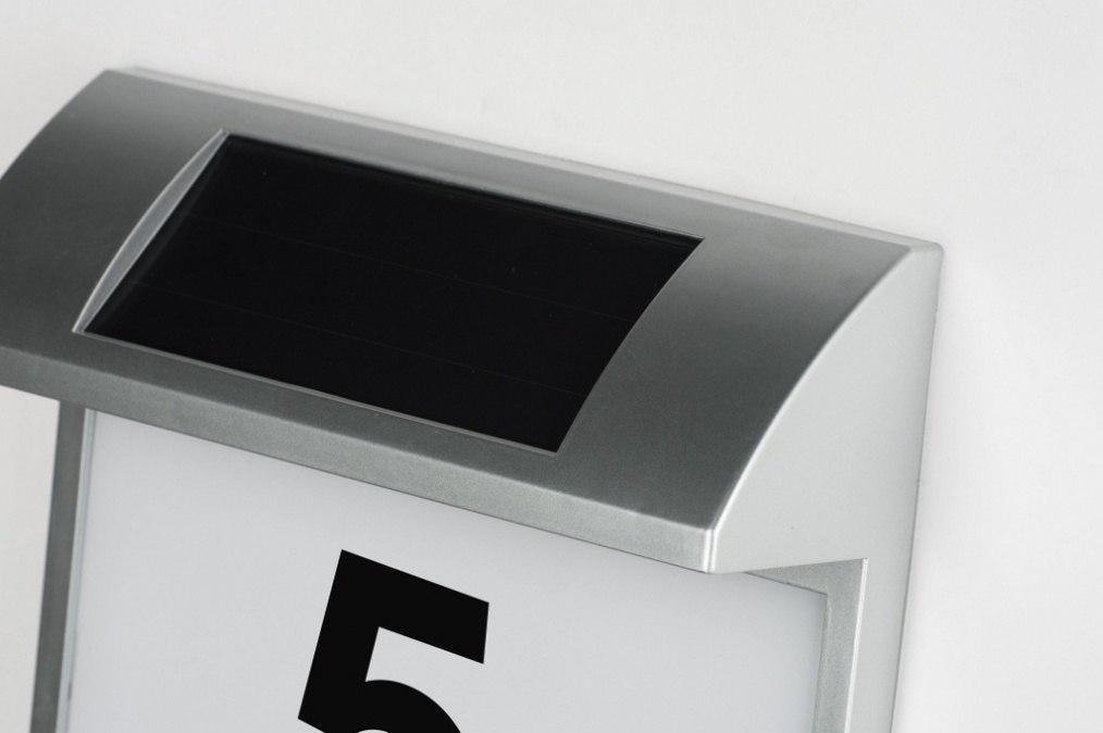 aussenleuchte 10091 modern kunststoff plexiglas grau. Black Bedroom Furniture Sets. Home Design Ideas