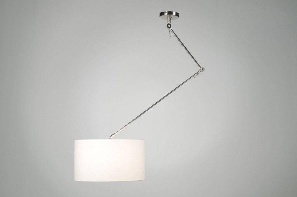 Hanglamp 30005: Modern, Eigentijds Klassiek, Landelijk Rustiek, Wit