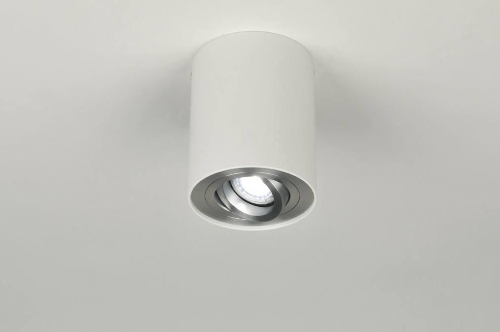 Plafondlamp 30042 modern design wit mat for Design plafondlamp