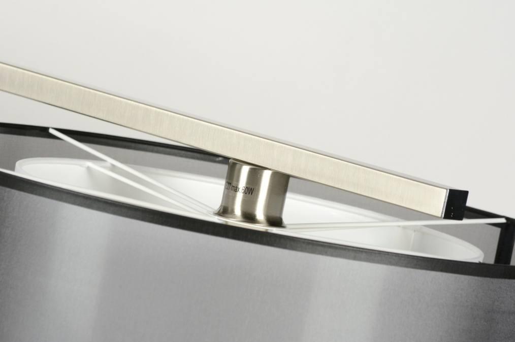 pendelleuchte 30126 modern schwarz stoff laenglich. Black Bedroom Furniture Sets. Home Design Ideas