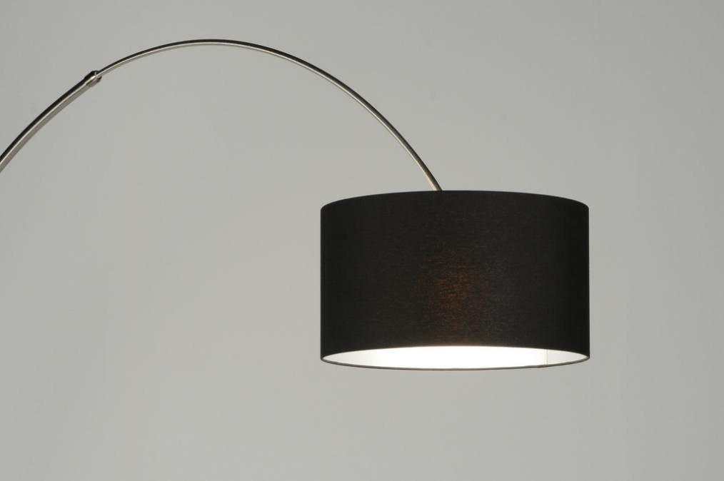 Vloerlamp 30175 Modern Staal Rvs Stof