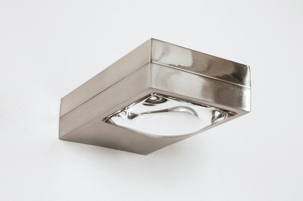 Wandlamp 30205 modern design glas helder glas for Design wandlamp