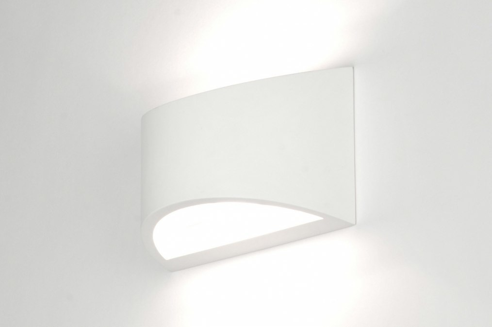 Hoogte Wandverlichting Slaapkamer : wandlamp 30208: modern, keramiek ...