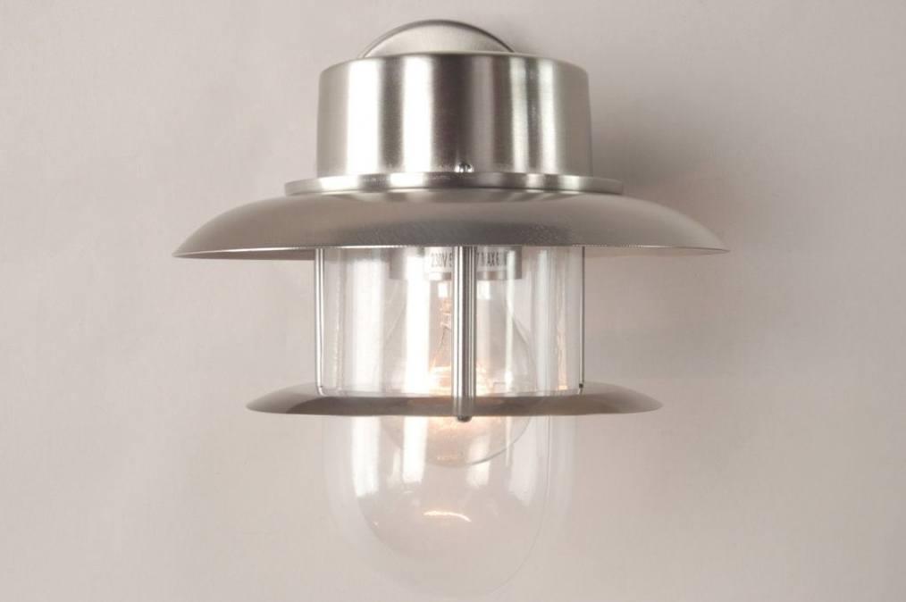 aussenleuchte 30251 modern glas klares glas stahl. Black Bedroom Furniture Sets. Home Design Ideas