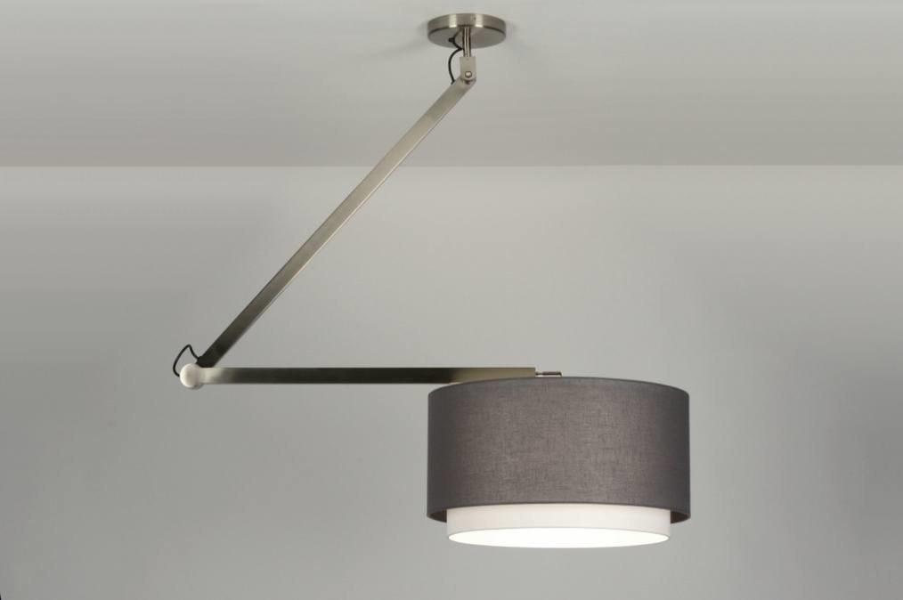 pendelleuchte 30459 modern design anthrazit stoff. Black Bedroom Furniture Sets. Home Design Ideas