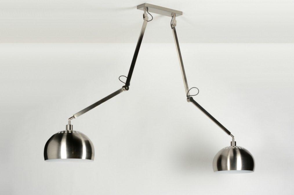 Keuken Recht 260 Cm : Hanglamp 30507: Modern, Design, Staalgrijs, Staal Rvs