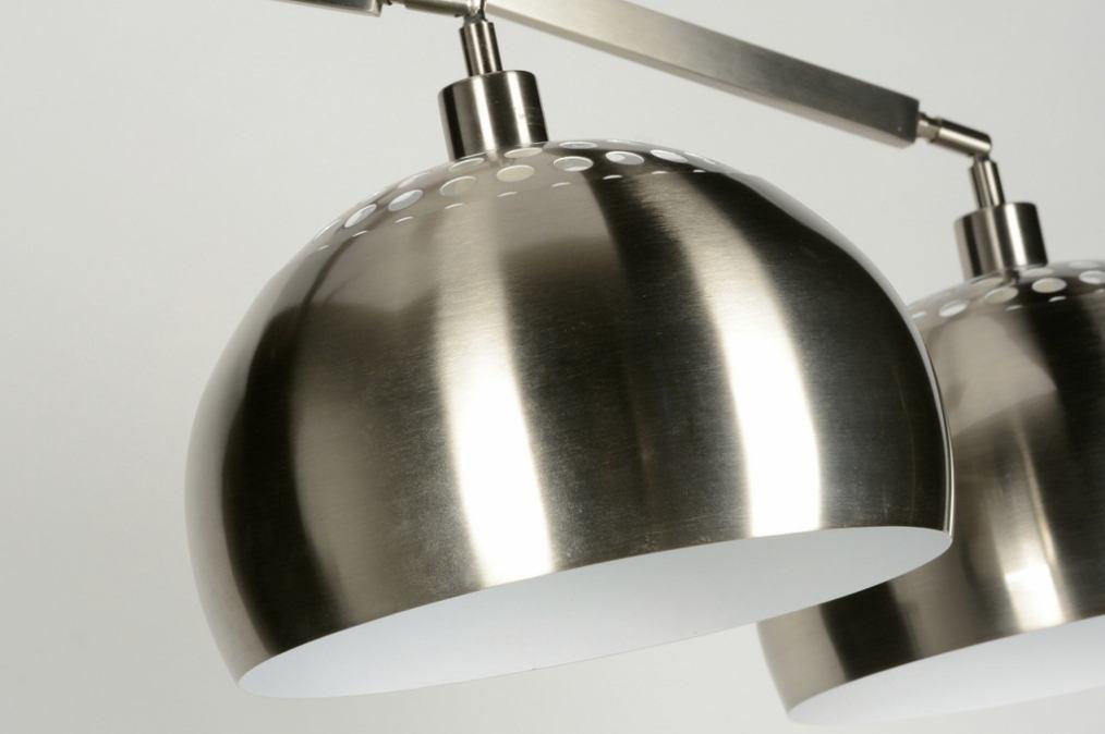 Keuken Recht 260 Cm : Hanglamp 30507: Modern, Design, Staal , Rvs
