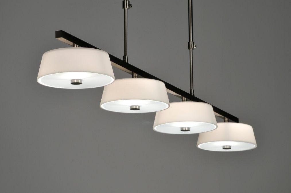 hanglamp 508: modern, design, glas, wit opaalglas