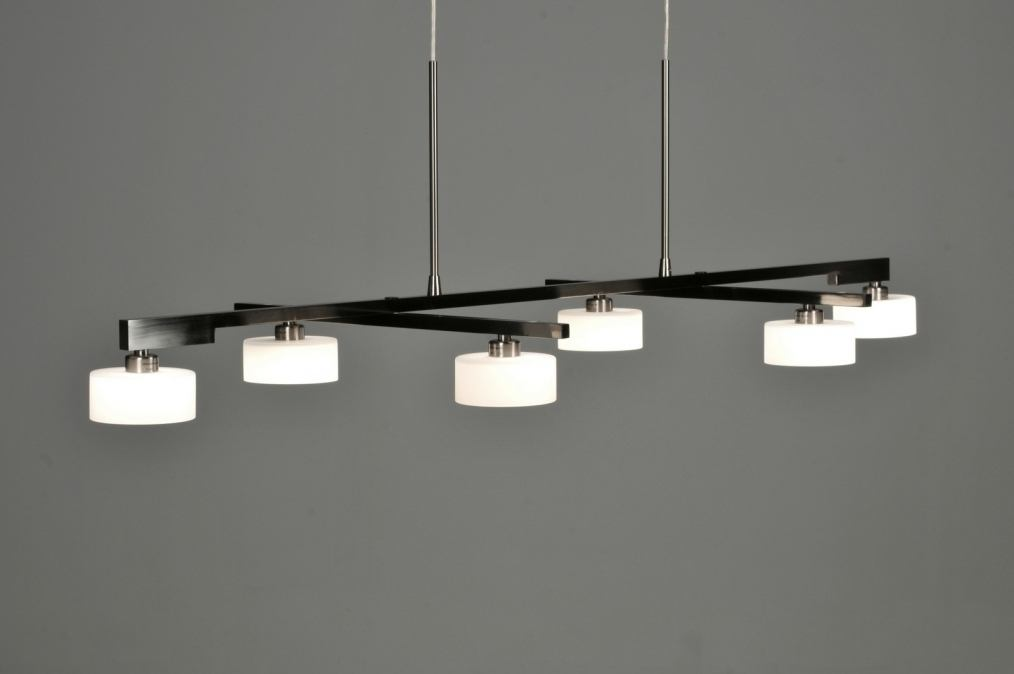 Design Keuken Hanglamp : hanglamp 62815: modern, design, glas, wit opaalglas
