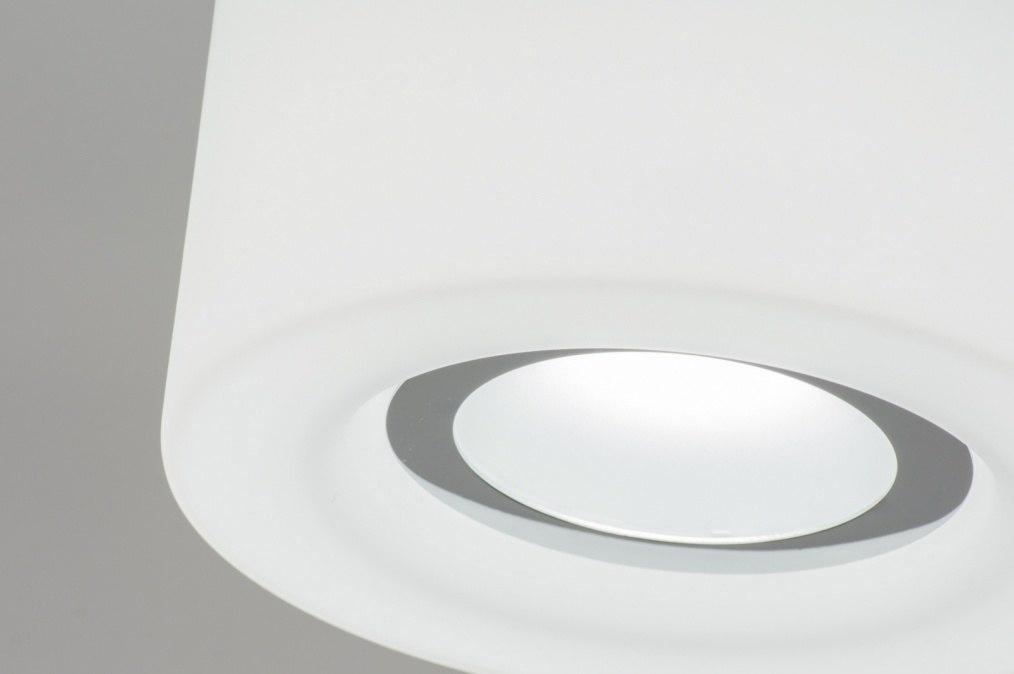 Plafondlamp 67795 modern design wit mat for Design plafondlamp