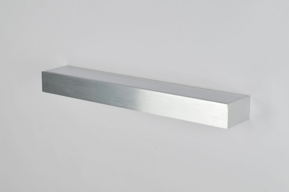 Hoogte Wandlamp Slaapkamer : Wandlamp 70187: Modern, Aluminium ...