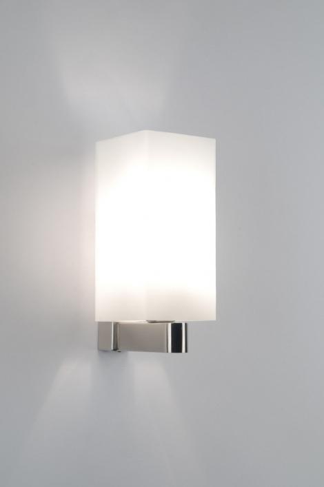 hoogte wandlamp slaapkamer : wandlamp 70706 modern, glas, wit ...