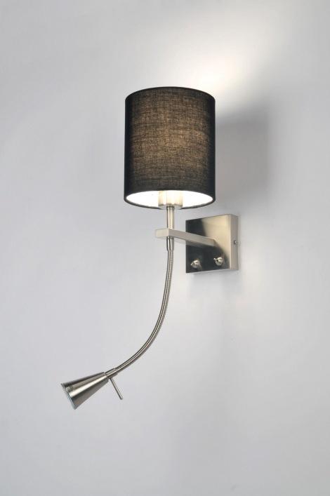Inbouwspots Keuken Karwei : Wandlamp 70986: Modern, Staal , Rvs, Stof