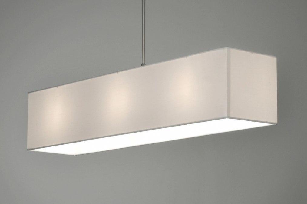 Hanglamp 71217 Modern Staal Rvs Stof