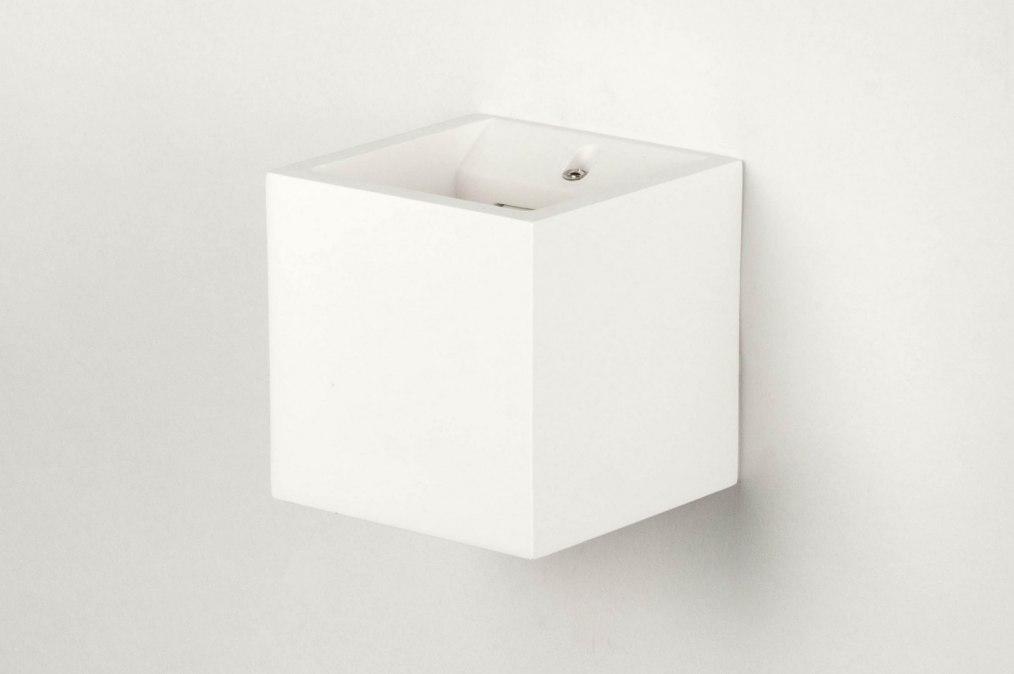 applique murale 71350 moderne ceramique blanc mat. Black Bedroom Furniture Sets. Home Design Ideas