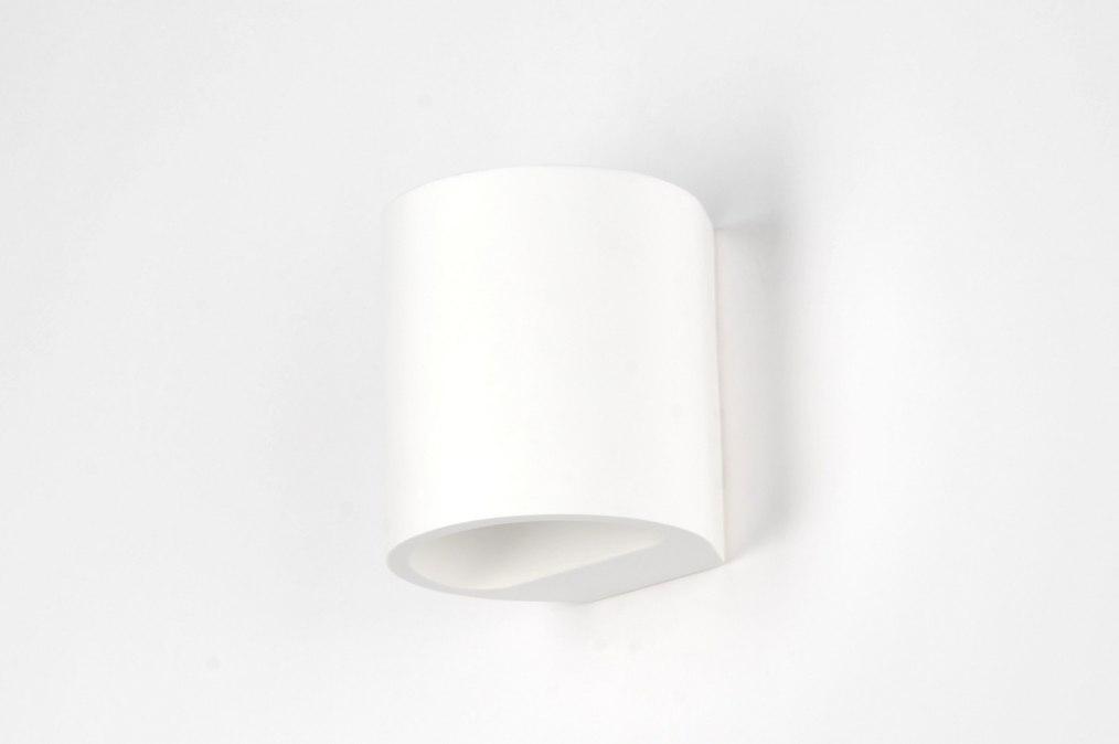 applique murale 71351 moderne ceramique blanc mat. Black Bedroom Furniture Sets. Home Design Ideas