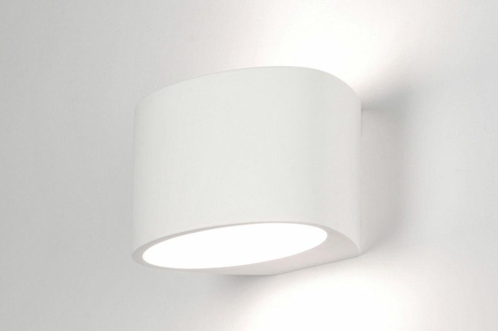 applique murale 71355 moderne ceramique blanc mat. Black Bedroom Furniture Sets. Home Design Ideas