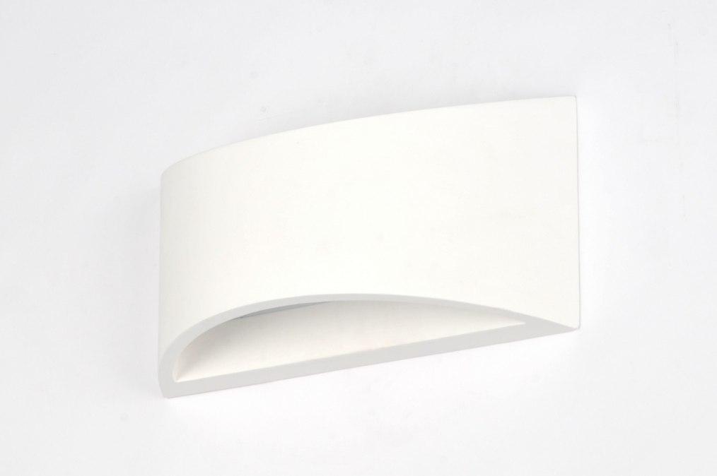 Applique murale 71358 moderne ceramique blanc for Ceramique murale blanche