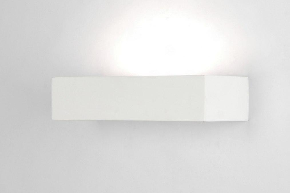 applique murale 71359 moderne ceramique blanc rectangulaire. Black Bedroom Furniture Sets. Home Design Ideas