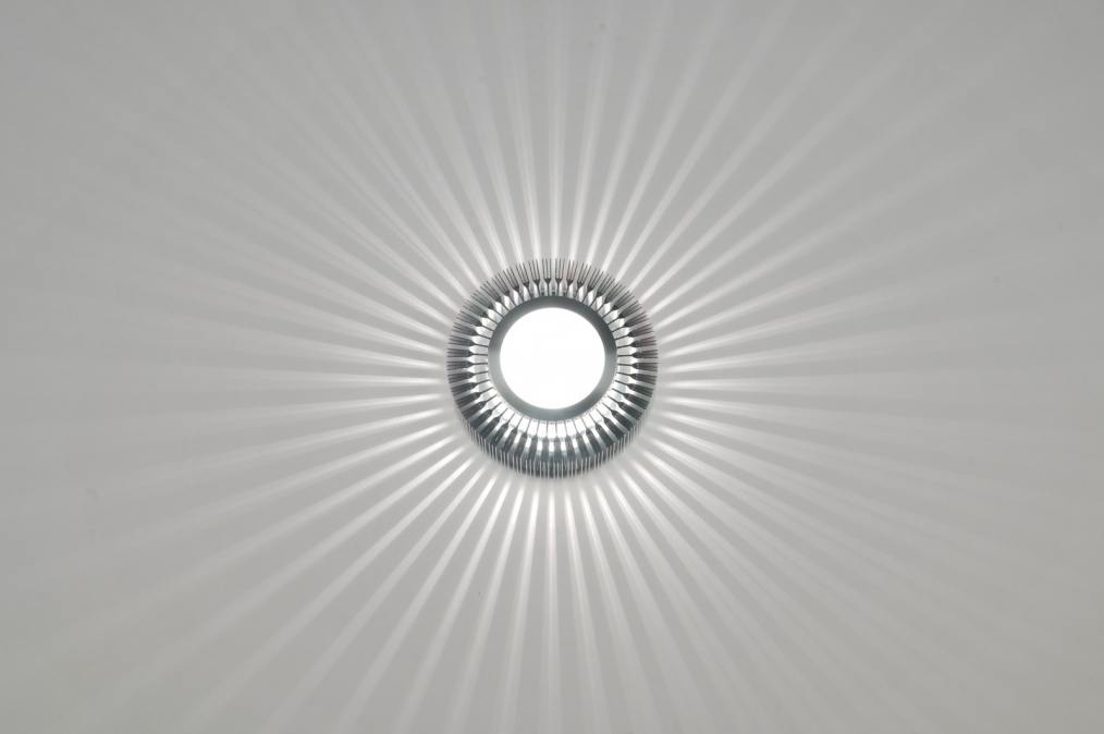 deckenleuchte 71381 modern design aluminium glas. Black Bedroom Furniture Sets. Home Design Ideas