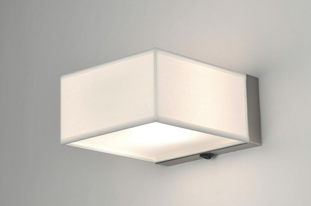 Wandlamp Slaapkamer Met Schakelaar : wandlamp 71424: modern, staal ...