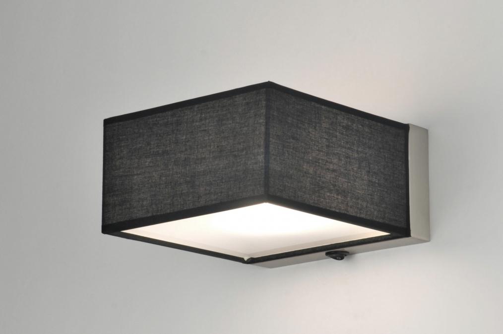Wandlamp Slaapkamer Met Schakelaar : Wandlamp 71425: modern, staal ...