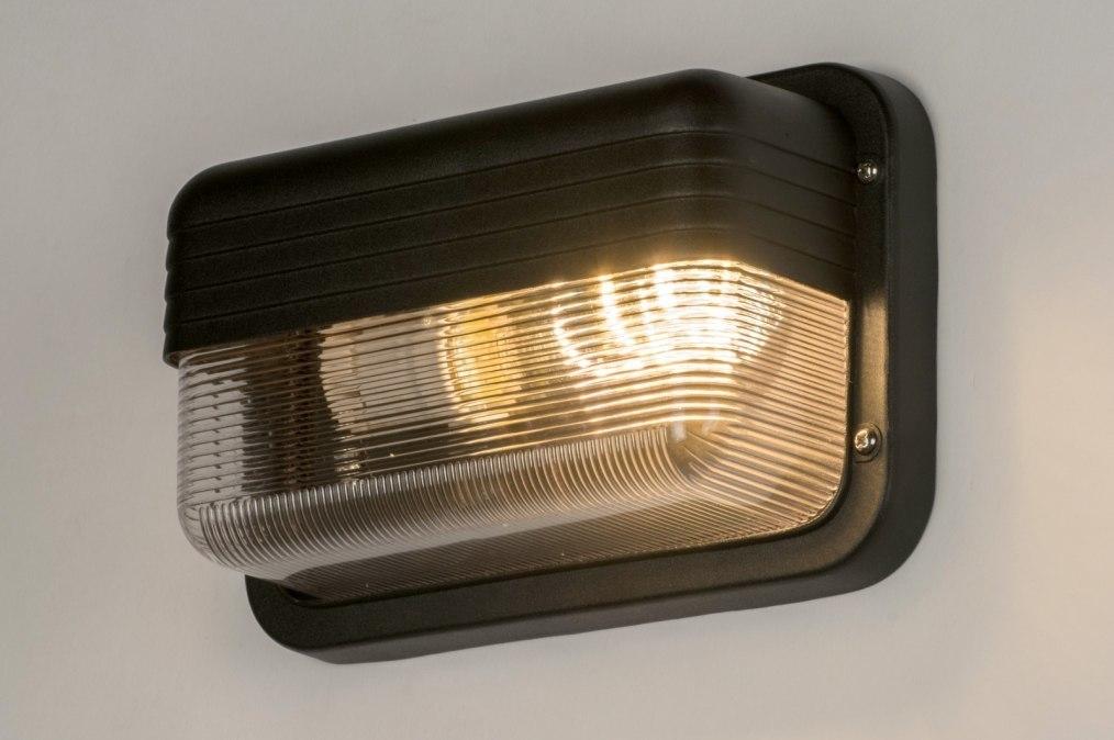 Eclairage exterieur 71577 moderne look industriel for Eclairage exterieur noir