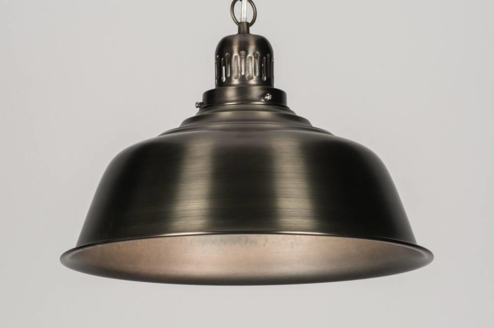 Industriele Hanglamp Keuken : Industriele Lampen Keuken : Stoere industriele hanglamp zwart keuken