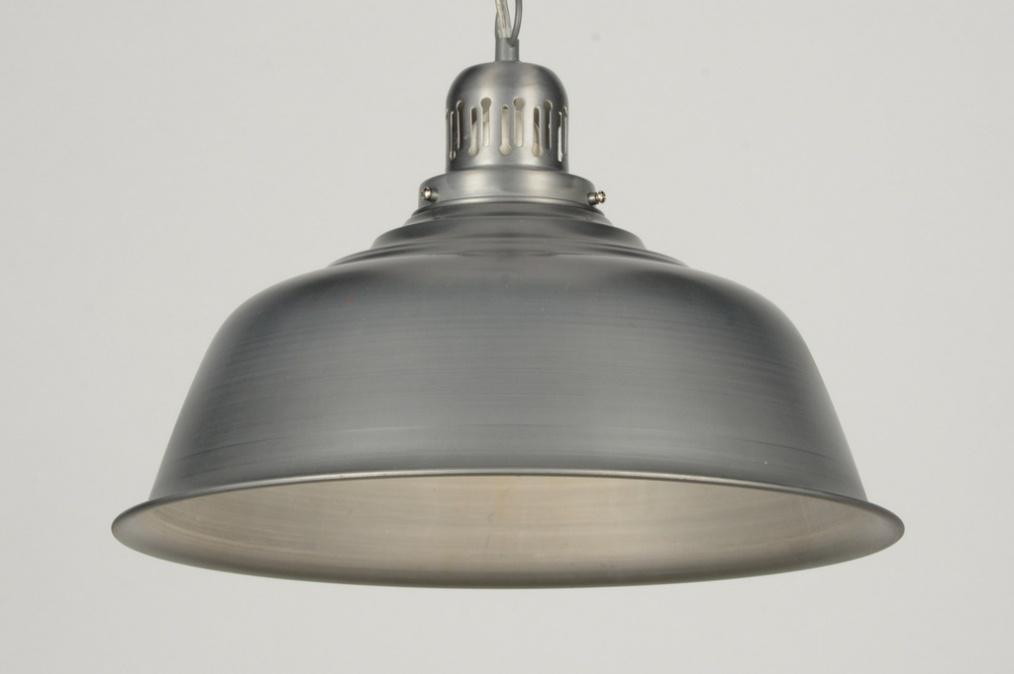 Keuken Hanglamp : hanglamp 71588: industrie, look, metaal, grijs