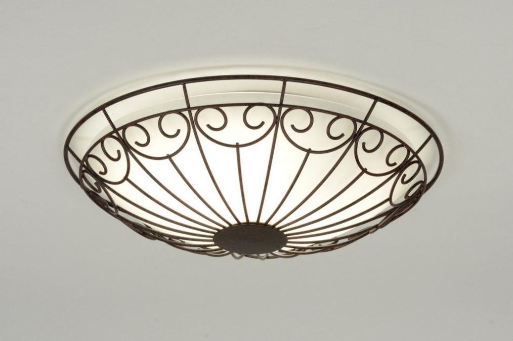 Plafondlamp Voor Keuken : plafondlamp 71775: klassiek, retro, roest, bruin
