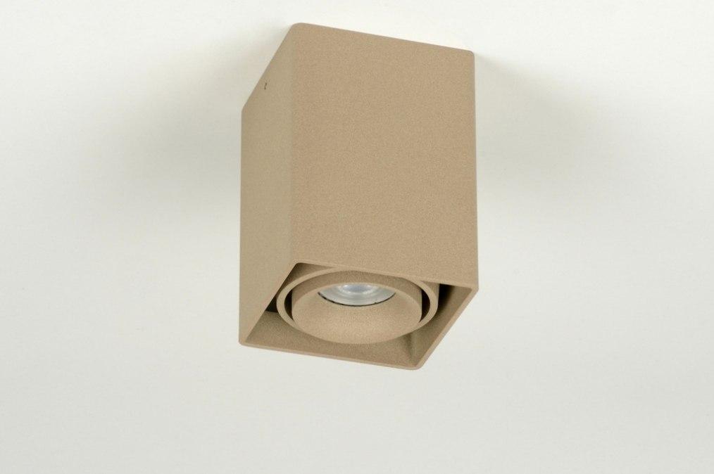 Plafondlamp 71795 modern design bruin taupe - Bruin taupe ...