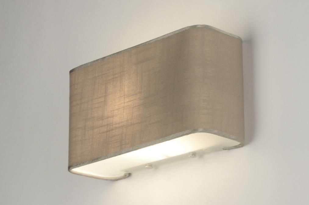 wandlamp 71804: modern, glas, wit opaalglas, metaal