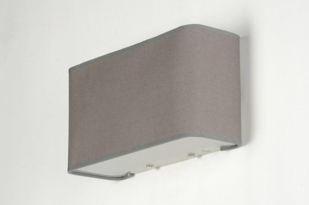 Wandlamp 71815 modern eigentijds klassiek landelijk rustiek grijs - Eigentijds huis grijs ...