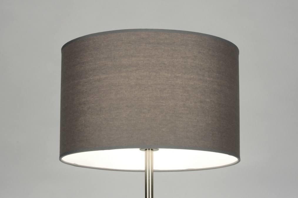 Slaapkamer Lampen Praxis : Vloerlamp 71819: modern, staal , rvs, stof