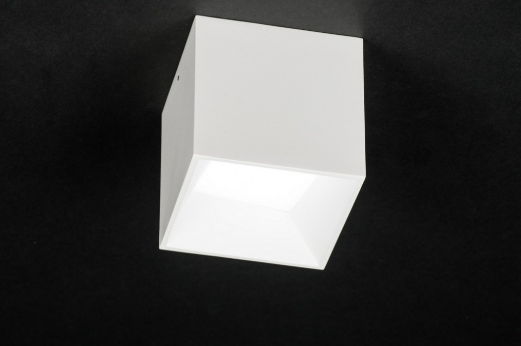 Plafondlamp 72065 modern design wit mat for Design plafondlamp