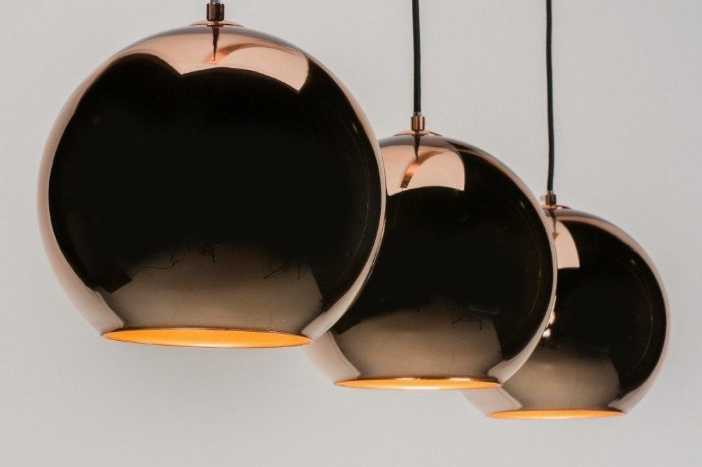 pendelleuchte 72092 modern retro glas rund. Black Bedroom Furniture Sets. Home Design Ideas