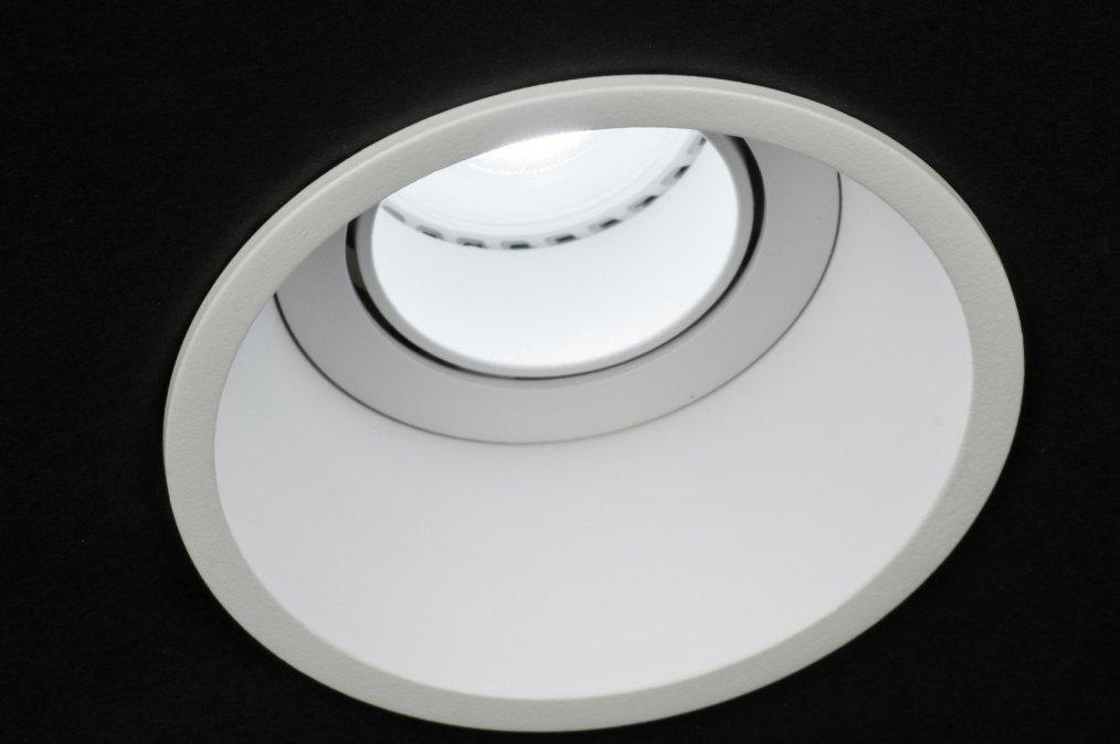 spot encastrable 72142 moderne design aluminium blanc. Black Bedroom Furniture Sets. Home Design Ideas