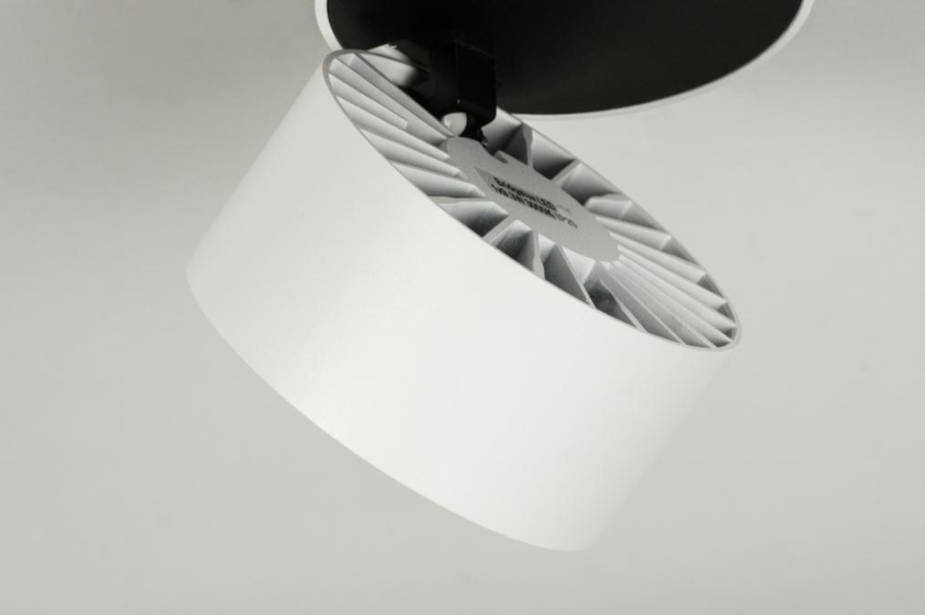 aluminium hoeklijn wit