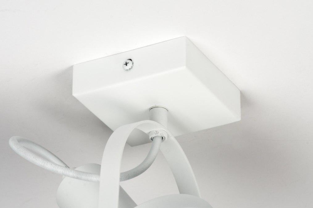 Spot 72246 modern wit mat metaal - Badkamer kantelen ...