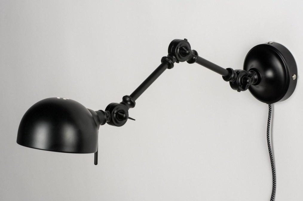 wandlamp 72273 modern retro industrie look. Black Bedroom Furniture Sets. Home Design Ideas
