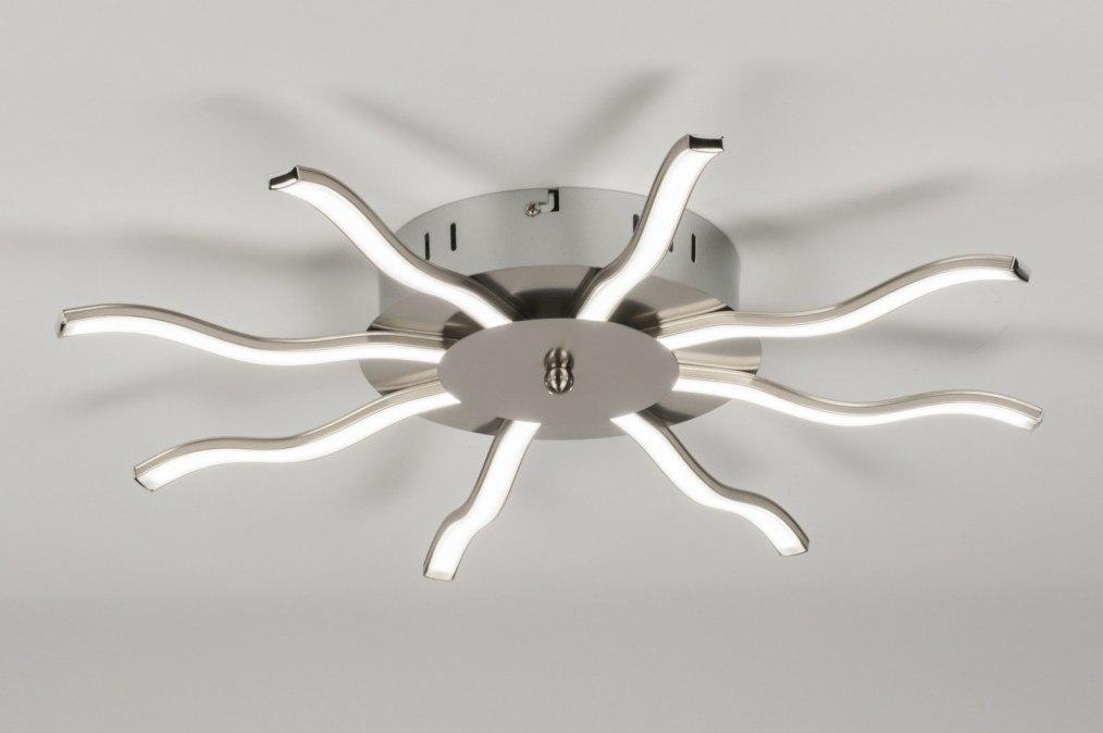 Plafondlamp Keuken Landelijk : plafondlamp 72335: modern, landelijk, rustiek, staalgrijs