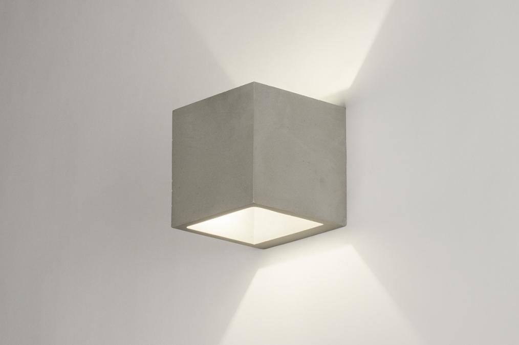 wandlamp 72423 modern landelijk rustiek industrie. Black Bedroom Furniture Sets. Home Design Ideas
