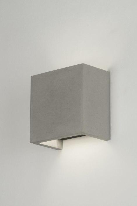 wandlamp 72426 modern landelijk rustiek industrie look. Black Bedroom Furniture Sets. Home Design Ideas