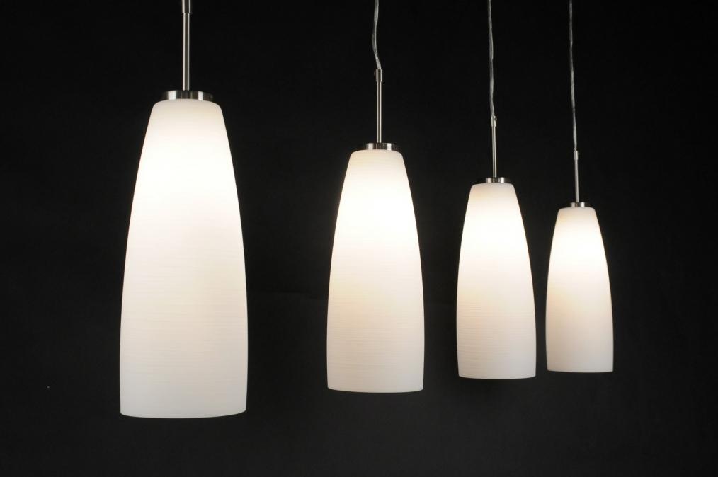 Hanglamp Voor Slaapkamer : hanglamp 80596: modern, klassiek, glas, wit ...