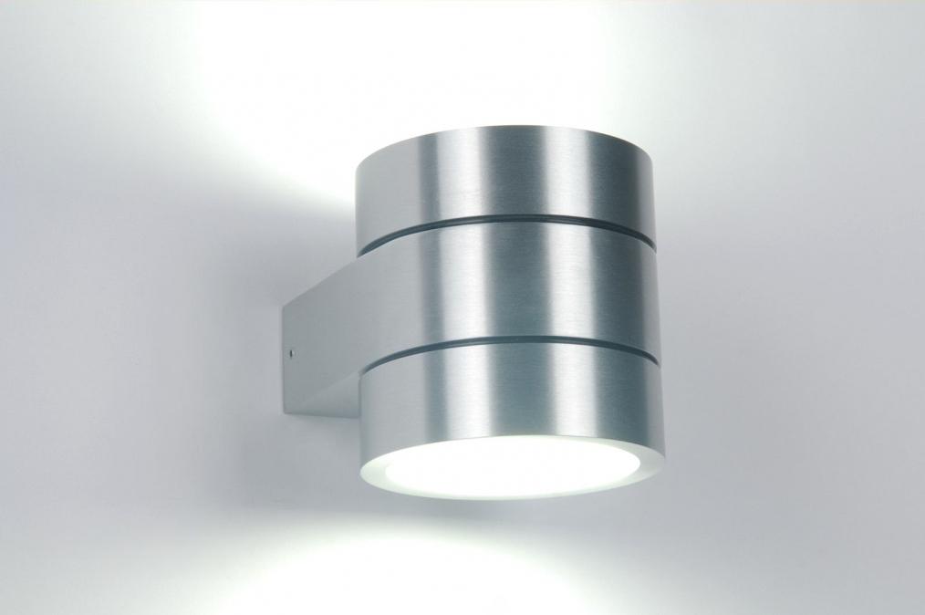 Badkamer Wandlamp Design : wandlamp 82040: modern, design, aluminium ...