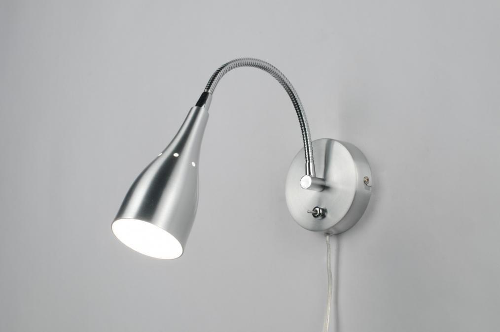 spot 83914: modern, aluminium, rond