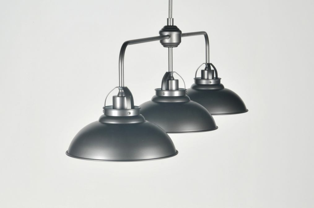 Hanglamp 85980 Klassiek Industrie Look Antraciet