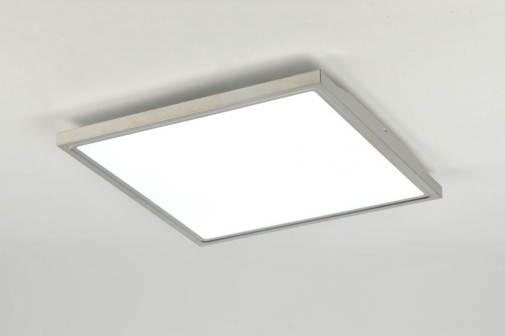 Plafondlampen Keuken : Deckenleuchte Modern Deckenlampen Chrom Eckig Lampe Leuchten Neu