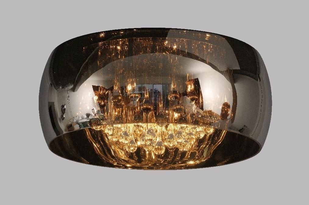 Slaapkamer Plafondlamp : Plafonnier 87585: Design, Chrome, Verre ...