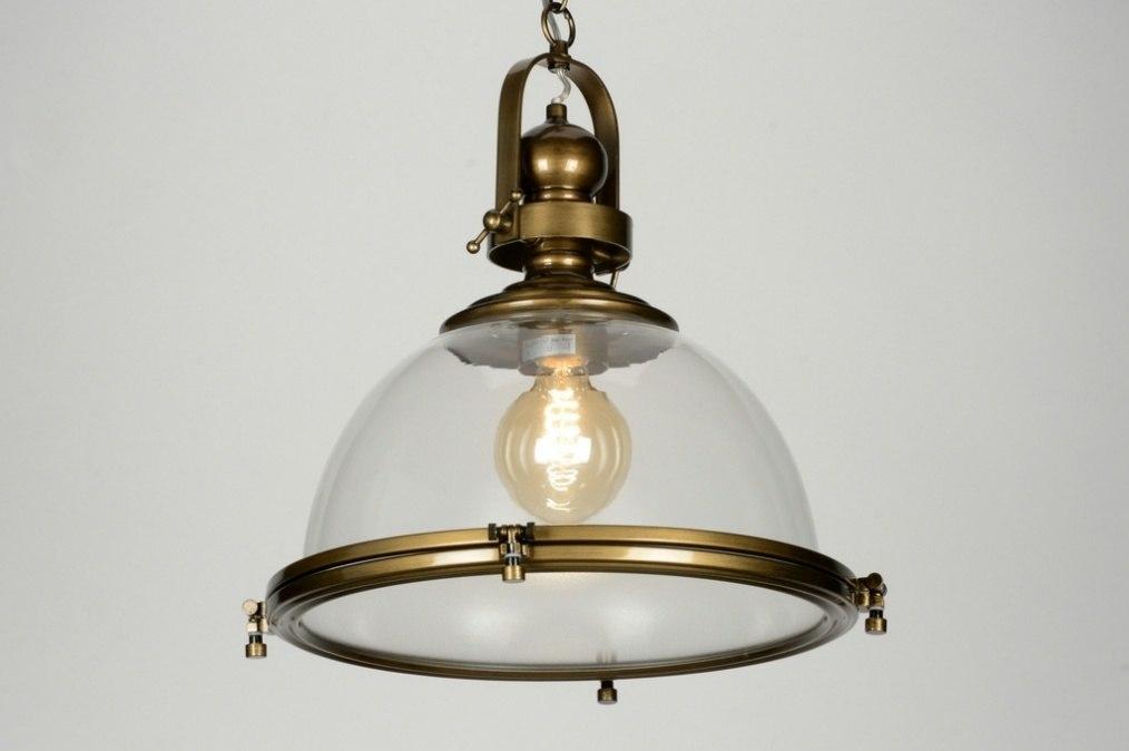Hanglamp 88157 Klassiek Roest Bruin Brons